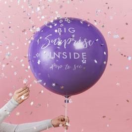 Kit Ballon Annonce Surprise Cadeau