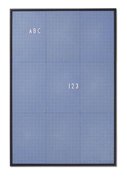 Tableau bleu pour messages Letter board Design letters format A2 44cmsX65cms