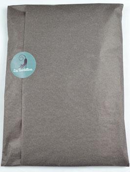Emballage cadeau papier de soie couleur taupe