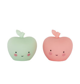 2 mini figurines pommes pastels A little lovely company