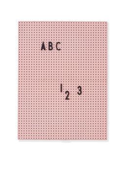Tableau rose pour messages Letter board Design letters format A 4 21cmsX28cms