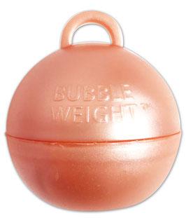 5 poids coloris rose gold pour ballons gonflables