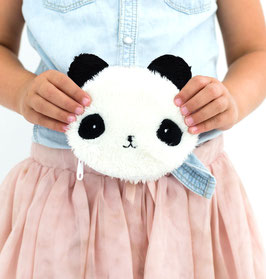 Porte monnaie fourrure Panda A little lovely company