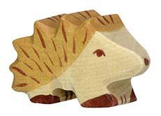 Petit Hérisson en bois Holztiger