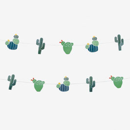 Guirlande cactus my little day