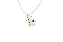 Collier Petit Tigre blanc Pop Cutie
