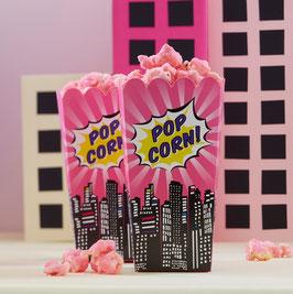 8 boites à popcorn anniversaire super héros fille