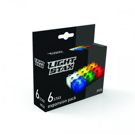 Extension de 6 briques lumineuses multicolores Light Stax