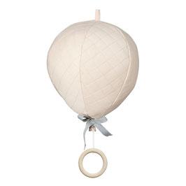 Mobile musical montgolfière rose pastel poudré Cam Cam Copenhagen