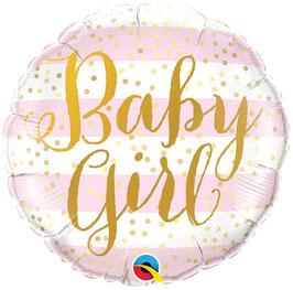 Ballon Baby Girl en Aluminium