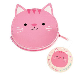 Porte monnaie chat rose Rex