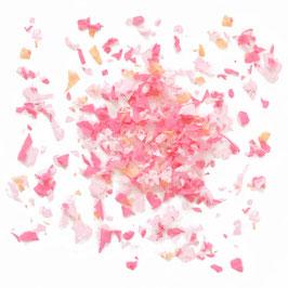 Confettis roses pastels