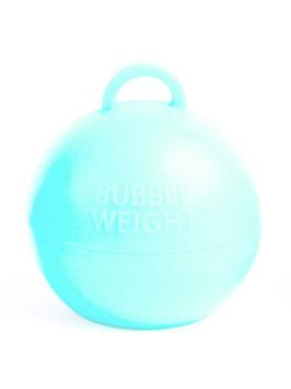 5 poids coloris bleu pastel pour ballons gonflables