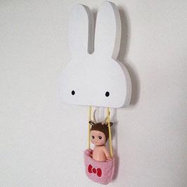 Patère lapin Bunny Pixistuff