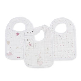 Pack de 3 bavoirs Lovely rose Aden&Anais