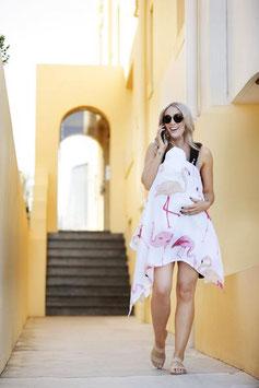Maxi lange flamant rose Bondi Beach Baby