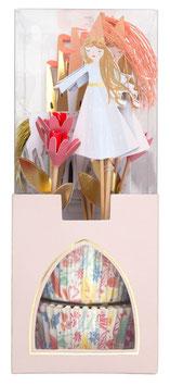 Kit Cupcakes Princesses Magiques Meri Meri