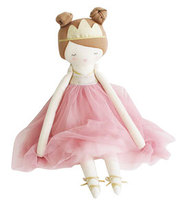 Poupée Princesse Pandora Robe Rose Alimrose
