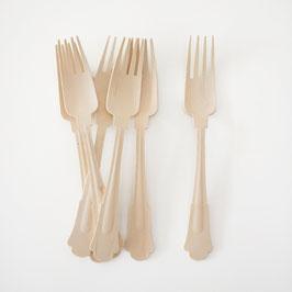 24 fourchettes en bois au design chic