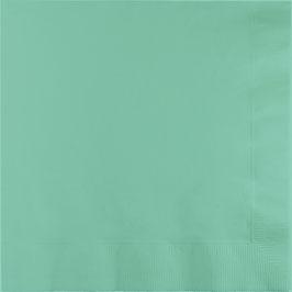 Serviettes en papier vert menthe