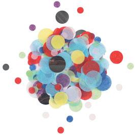 Confettis Multicolores et Argent My Little Day