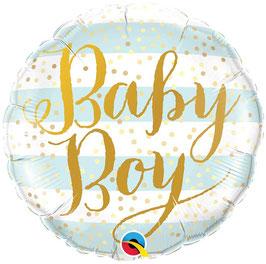 Ballon Baby Boy en Aluminium