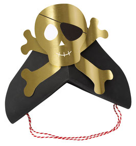 8 Chapeaux de Pirates Meri Meri