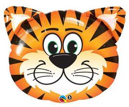Petit Ballon Tigre en aluminium  35cms