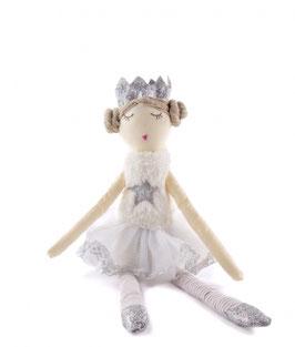 Poupée Princesse Peaches blanc et argent