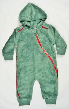 Combinaison fourrure couleur kaki kik kid