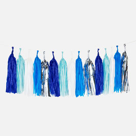 Guirlande tassel coloris bleus my little day