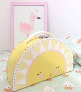 Valise en carton soleil by Mimirella aus liebe