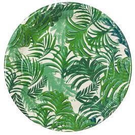 12 Grandes Assiettes Tropicales