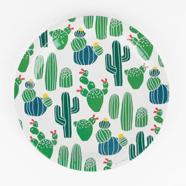 8 assiettes cactus my little day