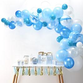 Kit Arche Ballons Bleus