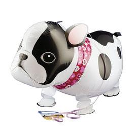 Ballon marcheur bulldog 53cms longueur