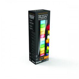 Pack de 12 briques lumineuses Light Stax avec base