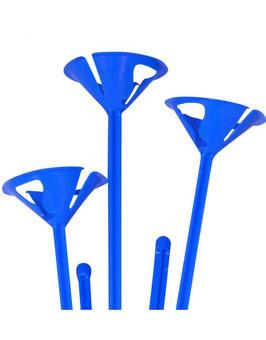6 Tiges plastiques bleues pour ballon gonflables A little lovely company