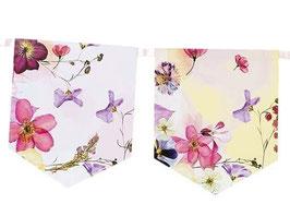 Guirlande Fanions Fleurs Bohèmes