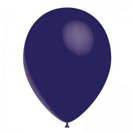 10 ballons bleu marine en latex