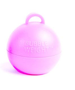5 poids coloris rose pastel pour ballons gonflables