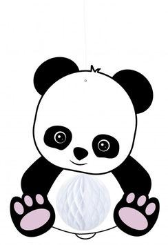 Suspension Panda avec Boule Alvéolée