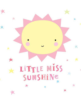 "Sticker ""Miss Sunshine"" A little lovely company"