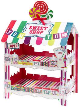 Présentoir Boutique de Bonbons Multicolore
