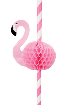 12 PAILLES FLAMANT ROSE SUNNYLIFE