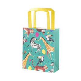 """8 sacs à cadeaux invités """"la fête des animaux de la jungle"""""""