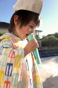 "Poncho de bain enfant "" ice cream"" Sunnylife"