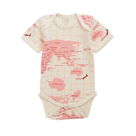 BODY MC PRINT ATLAS EN COTON BIO