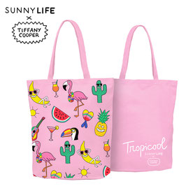Tropi cool Tote Bag Tiffany Cooper X Sunnylife Edition Limitée