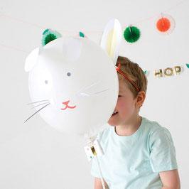 Kit de 4 ballons lapins meri meri